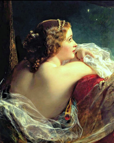 James sant the moonlit beauty